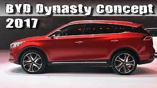 2017 BYD Dynasty EV Concept