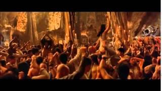 The Matrix Reloaded Party scene