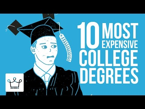 10 Most Expensive College Degrees In