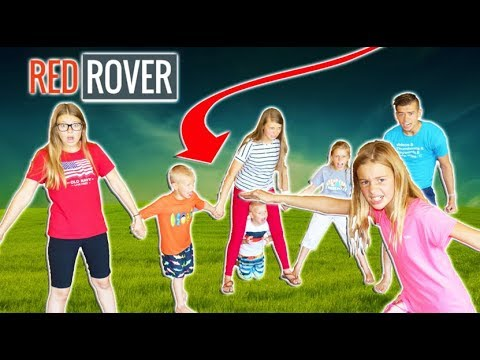 Red Rover FACE OFF No Break Through With Playground Games In The FOREST