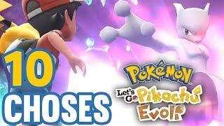 10 CHOSES à SAVOIR sur Pokémon Let