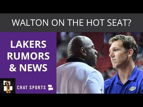 Lakers Rumors Anthony Davis Trade Luke Walton Hot Seat LeBron James Injury Update