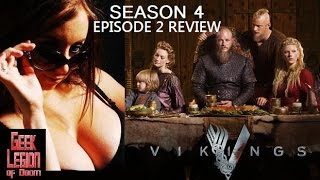 VIKINGS Season 4 Episode 2 ( Travis Fimmel 2016) TV Series Review S04E02