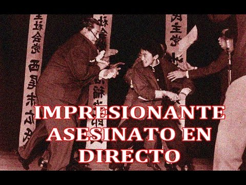 暗杀的浅沼 Asesinato de Inejiro Asanuma 浅沼の暗殺