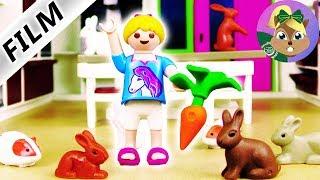 بلايموبيل فيلم | 1000 أرنب في الفيلا الفاخرة؟ مفاجأة لهانا من  إريك؟ سلسلة عائلة الطيور للاطفال