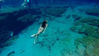 FRESH WATER DIVING! | UNDER WATER CAVES