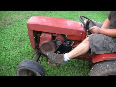NEW WHEEL HORSE TRACTOR