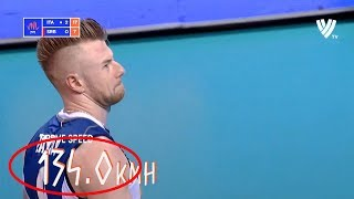 Ivan Zaytsev Serve 134 Km/h!! | New World Record? | Volleyball National League