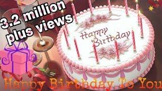 Happy Birthday to you | birthday song | birthday cake | whatsapp status video
