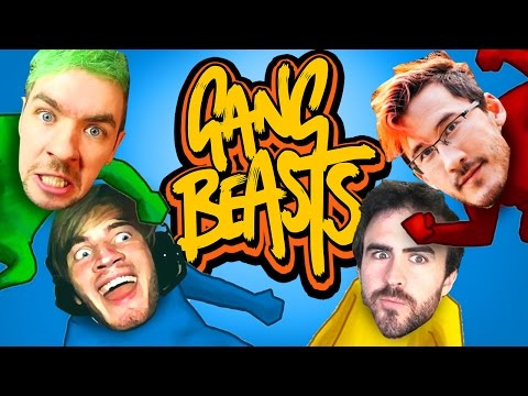 THE FUNNIEST MULTIPLAYER GAME! (Gang Beasts - Part 06)