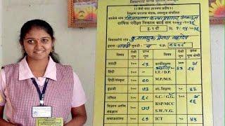 Sairat Fame Rinku Rajguru Got 81.60 % In Ninth Standard | View Marksheet