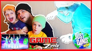 Halloween dance with real Ghost Just Dance 2016 Ghostbusters Video Game for kids 2014 New Games 2017