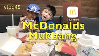 Vlog45: Mcdonalds Mukbang + Download Your Mcdonalds Application 👍