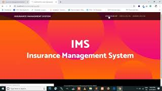 Insurance Management System Project using PHP and MySQL  Download