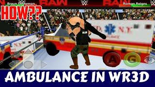 How To Download Ambulance For WR3D / Wrestling Revolution 3D Game