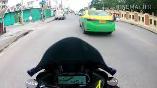 Yamaha R15 ว่าด้วยเรื่องตอนรถล้ม(ขับไปเบิกอะไหล่ศูนย์)