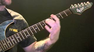 Square One Guitar Tutorial By Coldplay