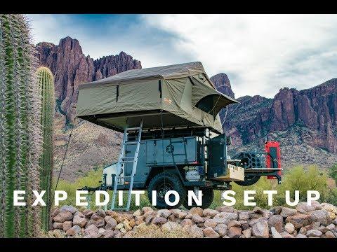 Turtleback Trailers Expedition Setup