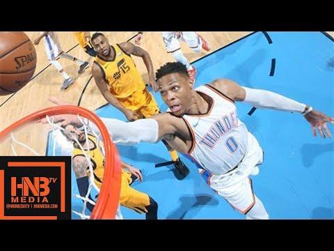 Xxx Mp4 Oklahoma City Thunder Vs Utah Jazz Full Game Highlights Game 2 2018 NBA Playoffs 3gp Sex