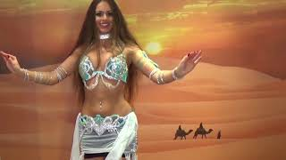 Isabella Belly Dance Drum Solo Hossam Ramzy | HD