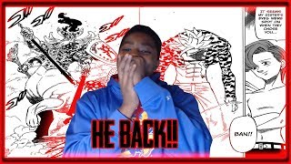 THE OG DEMON! BAN RETURNS!! The Seven Deadly Sins Chapter 292 LIVE REACTION