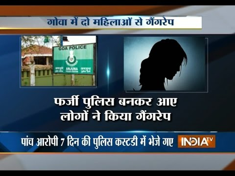 Delhi Girls Gang Raped in Goa - India TV