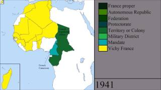 French Colonies in Africa