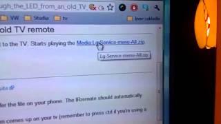 TV LG 450 jak zrobić USB aby odtwarzał filmy