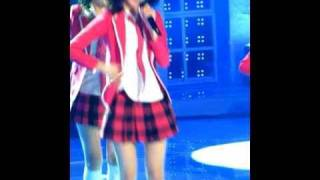 [Fancam] 100313 Yoona SNSD - Into The New World@recoding story show