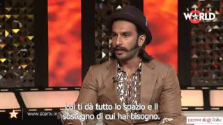 In conversation with Ranveer Singh on The Front Row (Sub_ita)