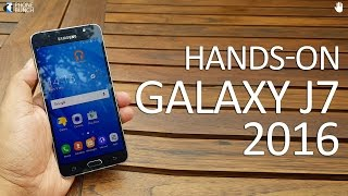 Samsung Galaxy J7 (2016) Indian Variant Hands-on Impressions