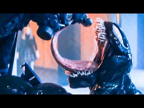 Extended Venom vs Soldiers Fight Scene VENOM 2018 Movie Clip