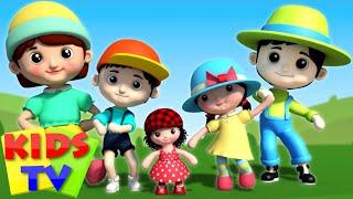 finger family toy dolls | nursery rhyme | 3d rhymes