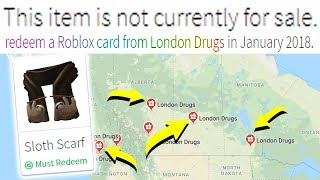 DO I TRAVEL TO THIS STORE FOR A ROBLOX ITEM?
