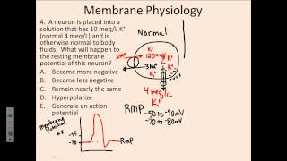 Membrane Physiology #4