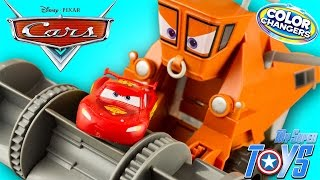 Disney Cars Color Changers Frank Chase & Change Lightning McQueen Toy Juguetes Rayo McQueen