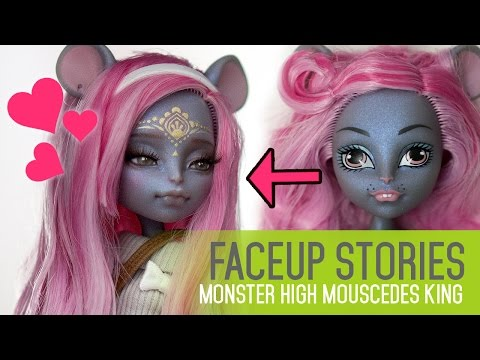 Xxx Mp4 Repainting Dolls MH Mouscedes King Faceup Stories Ep 41 3gp Sex