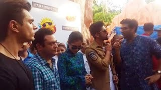 3 DEV New Poster Launch | Karan Singh Grover, Kunal Roy Kapoor, And Ravi Dubey At Esselworld