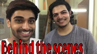 Golgappa  Pani Puri Eating Challenge Behind The Scenes Ft Neon Man 360   Shiladitya Chatterjee