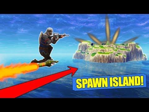 Rocket Riding To Spawn Island Fortnite