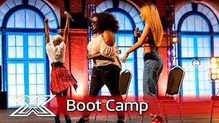 Gifty, Anelisa and Chanal let their voices do the work | Boot Camp | The X Factor UK 2016