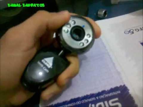 Como usar a webcam no telescópio
