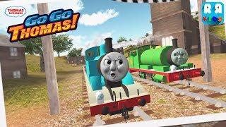 Thomas & Friends: Go Go Thomas! - Thomas vs Percy | Angry Face Thomas and Percy