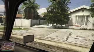 GTA V - Ballas Revenge Driveby