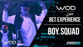Boy Squad | WOD Live at BET Experience 2017 | #BETX #BETExperience