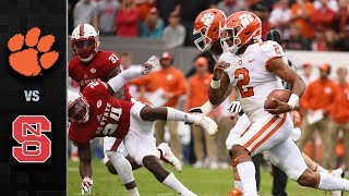 Clemson vs. NC State Football Highlights (2017)