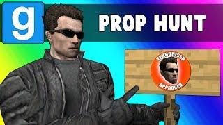 Gmod Prop Hunt Funny Moments - Embracing Terroriser Spots (Garry