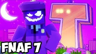 Minecraft Teen Titans GO FIVE NIGHTS WITH FREDDY REAL LIFE NIGHT #5 (FNAF SISTER LOCATION Roleplay)