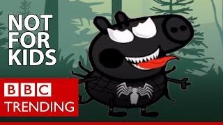 The disturbing YouTube videos that are tricking children - BBC Trending