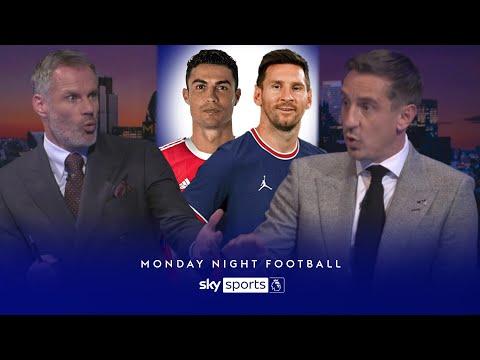 Neville & Carragher disagree on Ronaldo vs Messi debate Monday Night Football
